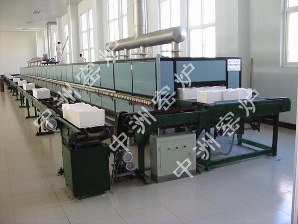河南焦作化工厂电烧纳米锆辊道窑