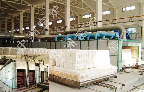 106.8m耐火材料隧道窑