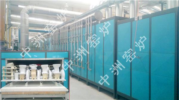 82m卫生瓷隧道窑