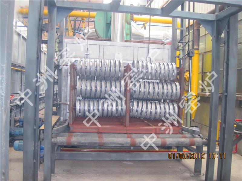 电动车轮热处理炉