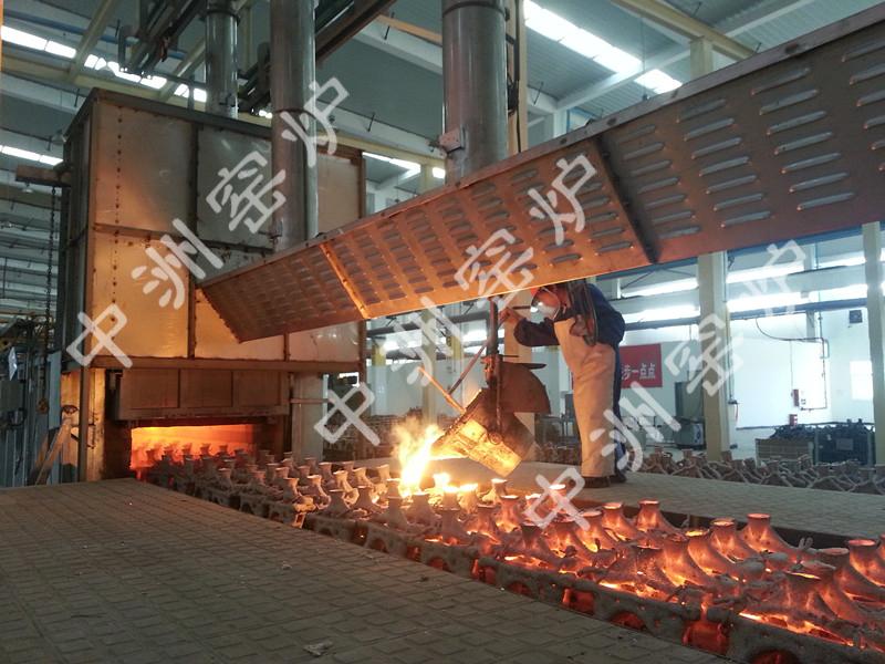 隧道式模壳焙烧炉