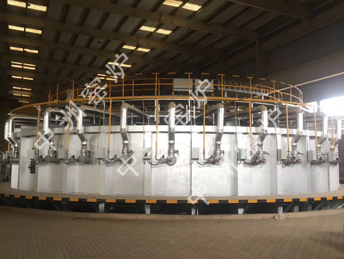 Pakistani Peoples Steel PlantΦ 10.5 M ring furnace equipment